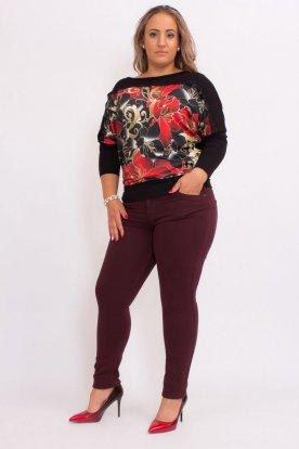 Divatos női molett nadrágok