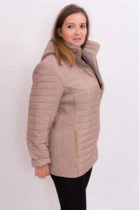 Női divatos karcsúsított nagy méretű átmeneti kabát