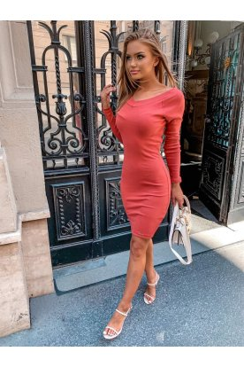 Női hosszú ujjú mini ruha