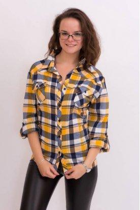 Kis méretű női kockás ing