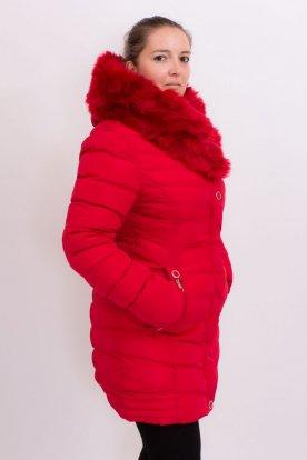 Női divatos karcsúsított kabát