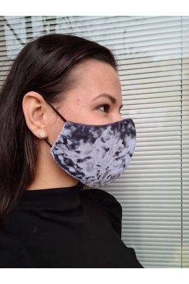 Bársony hatású mosható maszk
