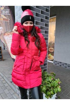 Női divatos téli kabát