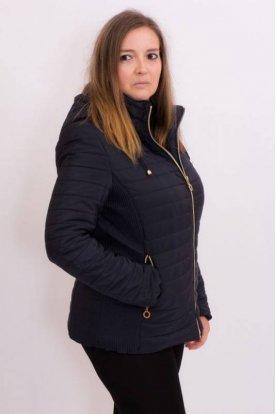 Női divatos karcsúsított átmeneti kabát