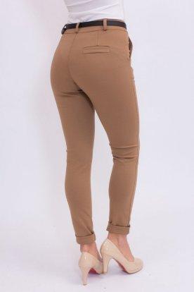 Elegáns alkalmi sztreccses anyagú szövethatású nadrág