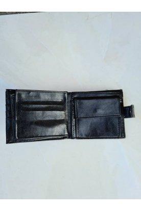Fekete stílusos férfi pénztárca