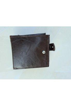 Sötét barna fekete színű stílusos férfi pénztárca