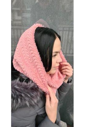 Divatos női meleg téli körsál
