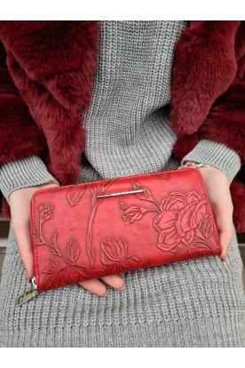 Női divatos nyomott mintás pénztárca