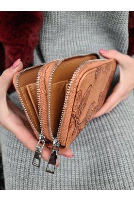 Divatos nyomott mintás női nagy méretű pénztárca