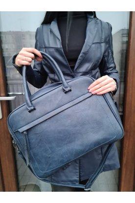 Elegáns bőr hatású laptop táska