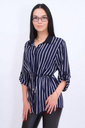 CATANIA divatos női nagy méretű deréknál megköthetős ingtunika