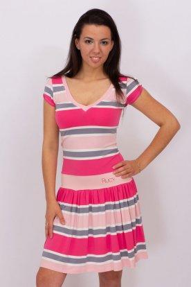 RUCY FASHION divatos női mini ruha pörgős szoknyával