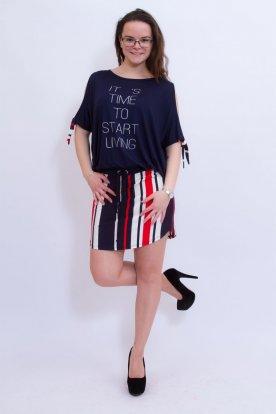 RUCY FASHION divatos női feliratos tunika