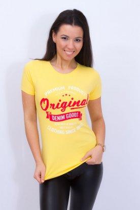 VIKTORIA MODA stilusos nyomott mintás póló Original mintával