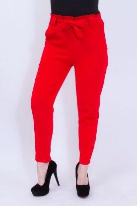 Elegáns derékban megköthető női nadrág