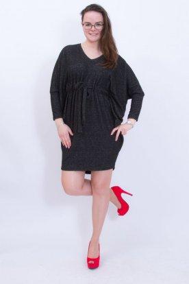 VICTORIA MODA divatos lepke ujjas női hosszú ujjú mini ruha