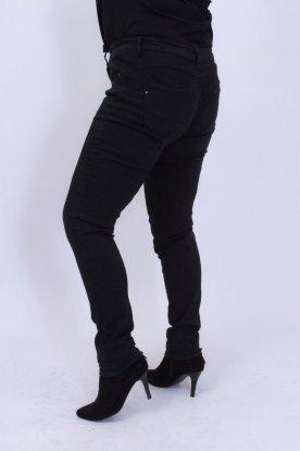 FIONINA divatos fekete női farmernadrág