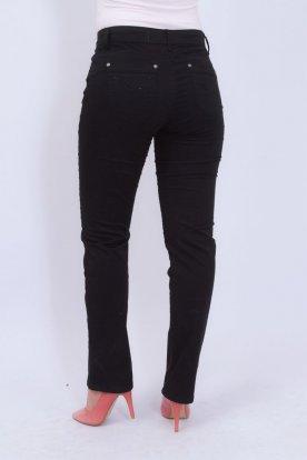 REDRESS női alkalmi fekete nadrág