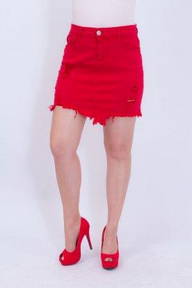 GOURD JEAND divatos szaggatott szexi női farmer mini szoknya