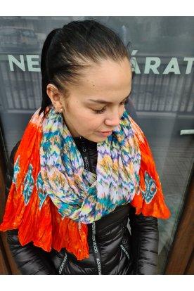 Divatos egyedi mintával díszített színes női sál