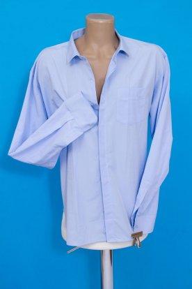 Alkalmi hosszú ujjas anyagában mintás világoskék férfi ing