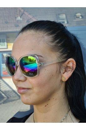 Divatos színes lencsés női napszemüveg