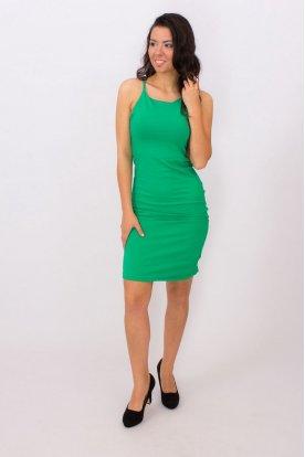 Egyszínű mini ruha