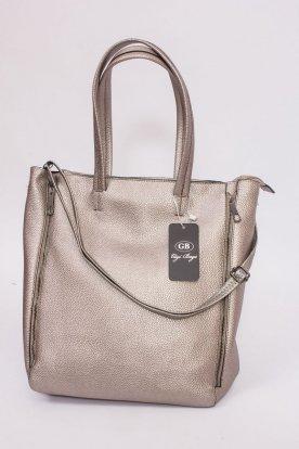 Műbőr táska nagy pakoló résszel