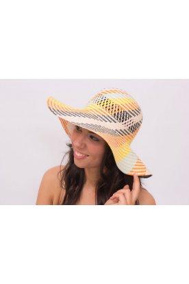 Vidám színes nyári kalap