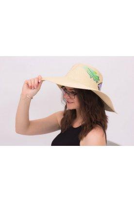 Nyomott mintás kalap nyári mintával