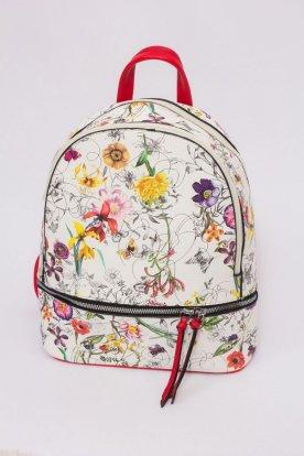 Virág mintás háti táska