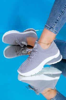 Női belebújós zoknicipő / sportcipő Love felirattal és fűzővel