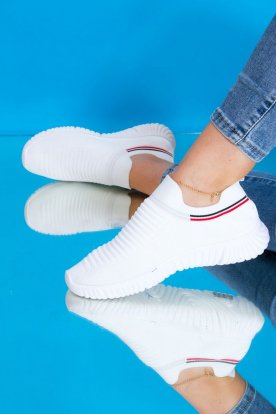 Belebújós női zoknicipő/ sportcipő
