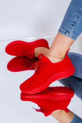 Női belebújós színes sportcipő