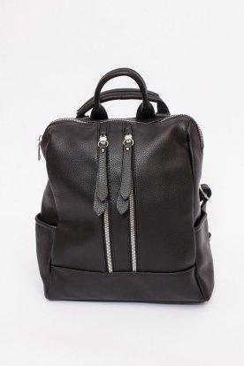 Műbőr háti táska