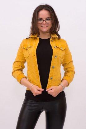 Női divatos színes farmer dzseki