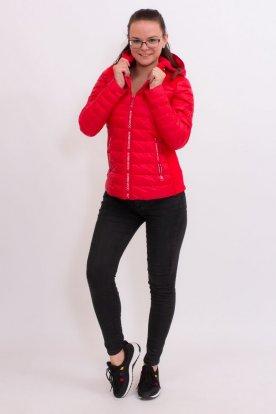 Női divatos steppelt kabát
