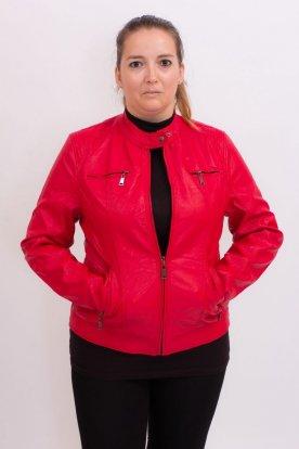 Női műbőr kabát
